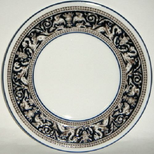 Bread Florentine - Wedgwood Florentine Blue Bread & Butter Plate (Imperfect)