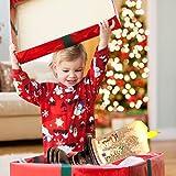 Eldnacele Christmas Snow Globe Candle Battery