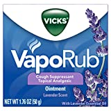 Vicks VapoRub, Lavender Essential Oil Chest Rub