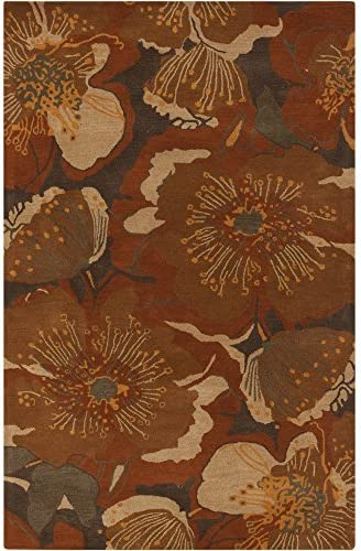 Surya Athena ATH-5102 Hand Tufted Wool Floral and Paisley Area Rug