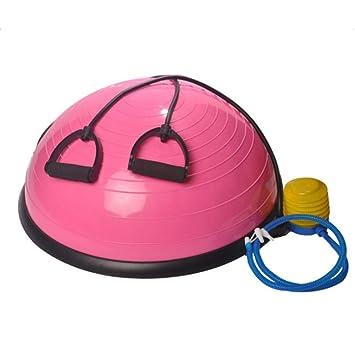 Amaker - Balón de Yoga con 2 Cuerdas elásticas para Entrenamiento ...