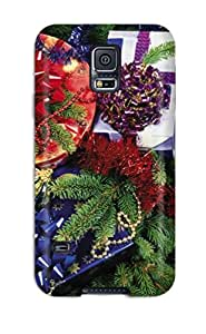 Discount GU3LHO8KR5K9VY1U Galaxy Case - Tpu Case Protective For Galaxy S5- Holiday Christmas