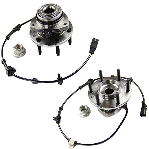 t ABS Wheel Hub and Bearing Set - Both Left and Right - Pair of 2 ()