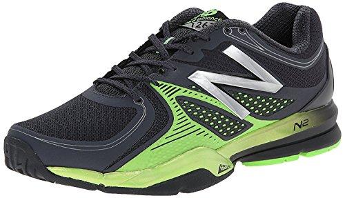New Balance Mens MX1267 Training Shoe, Negro/Verde, 40.5 EU/7 UK