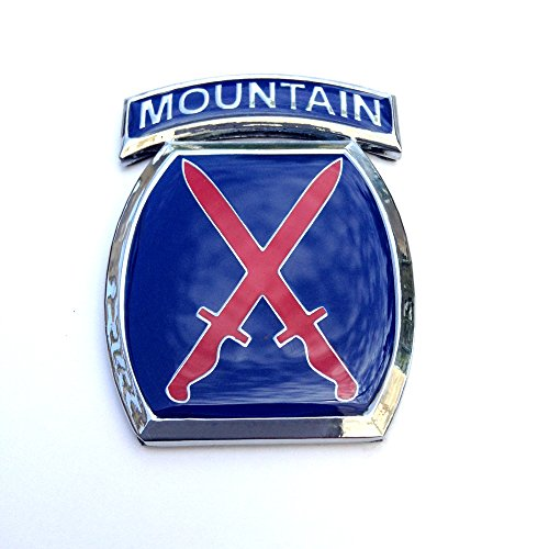 10th Mountain Division Sticker Decal Emblem for Car Truck Auto US Army