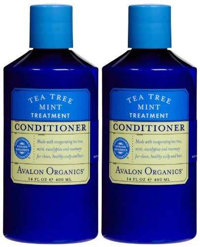 Avalon Organics Tea Tree Mint Scalp Treatment Conditioner - 14 oz - 2 ()