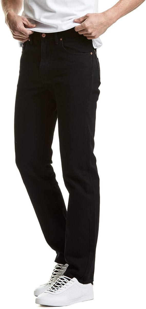 Edward S Jeans Pantalon Classic Mezclilla Negro 2622 Para Hombre Tiro Alto Boot Cut Color Negro Amazon Com Mx Ropa Zapatos Y Accesorios