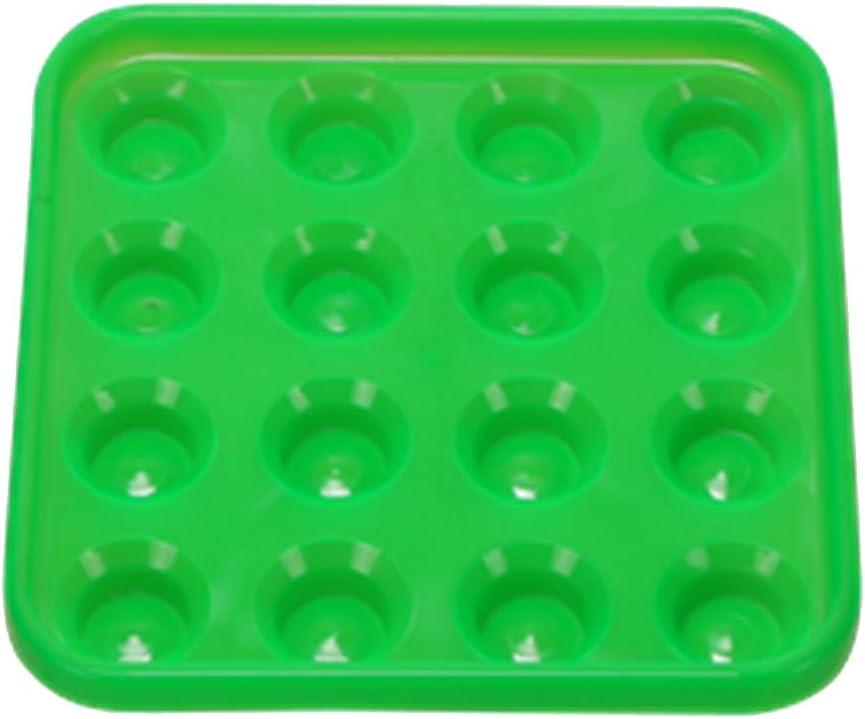Unbekannt Sharplace Billardkugeln Tablett Kugeltablett Billard Tablett f/ür 16 Billardkugel Aufbewahrung