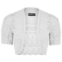 New Women's Knitted Bolero Short Sleeve Shrug