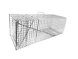 Tomahawk Original Series Collapsible Trap for Raccoons/Badgers/Groundhogs/Armadillos