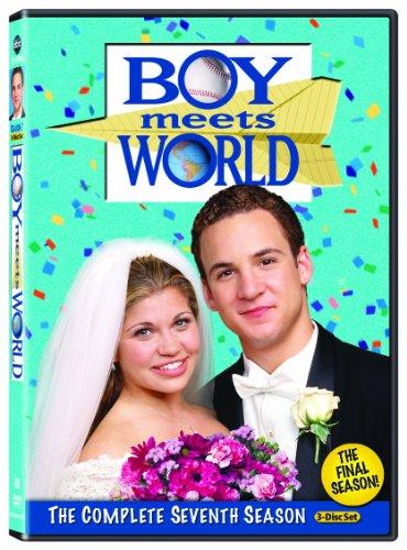 DVD : Boy Meets World: Season 7 (Full Frame, Dolby, 3 Disc)