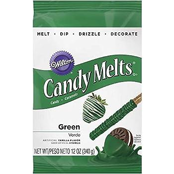 Wilton 1911-1357 Candy Melts, 12-Ounce, Dark Green