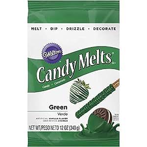Wilton Dark Green Candy Melts, 12-Ounce