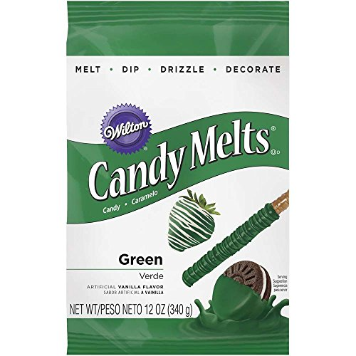 Wilton Dark Green Candy Melts, 12-Ounce