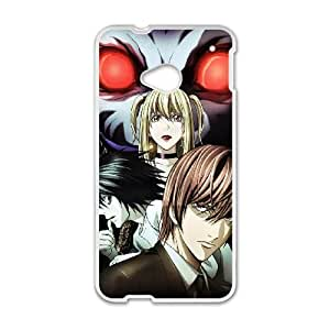 HTC One M7 Cell Phone Case White death Note XMN 18D DIY Case
