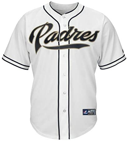100% authentic de93d f874b Majestic San Diego Padres Home White Replica Baseball Jersey Big & Tall  Sizes