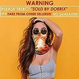 Bandana for Rave Face Mask Dust Wind UV Sun, Neck