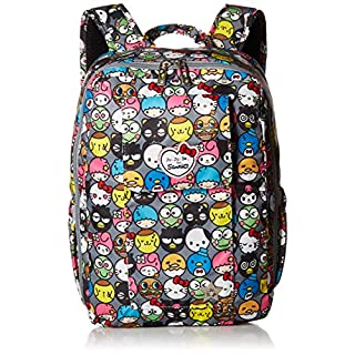 JuJuBe MiniBe Small Backpack, Hello Kitty Collection - Hello Friends