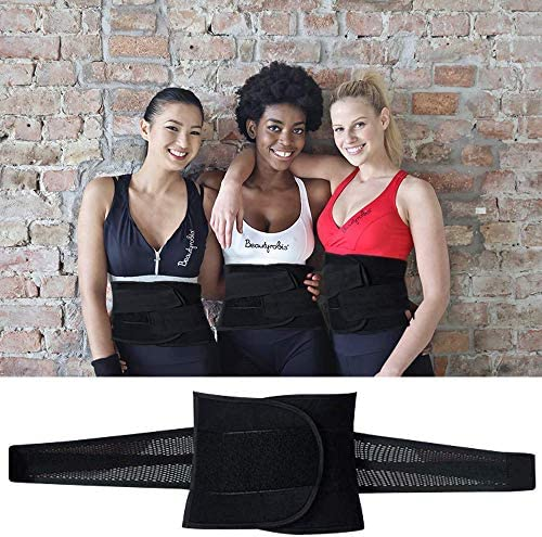 Aaiffey Lower Back Brace - Lumbar Support for Women & Men -Adjustable Compression & Breathable Waist Trainer Belt Weight Loss for Gym, Posture, Pain Relief 6