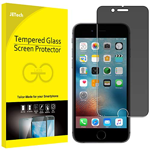 JETech Privacy Screen Protector for Apple iPhone 6 Plus and iPhone 6s Plus Anti-Spy Tempered Glass Film (Best Iphone 6 Privacy Screen)