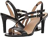 Naturalizer Women's Kayla Heeled Sandal, Black, 8 M US