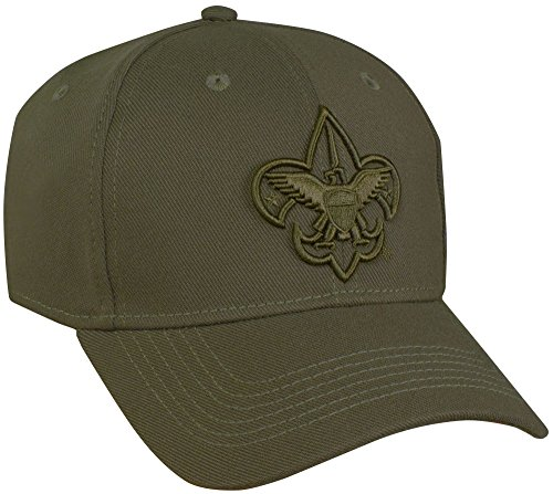 Uniform Cap Hat - Boy Scouts of America Stretch Fit Adult Uniform Cap - XL