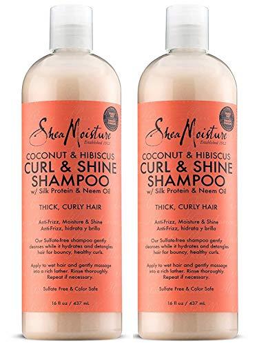 Shea Moisture Coconut Hibiscus Shampoo