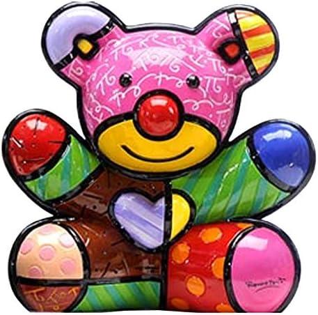 Romero Britto Fun Bear 2nd Edition Figurine