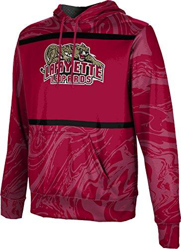 ProSphere Lafayette College Men's Hoodie Sweatshirt - Ripple (Large) (La Line Lafayette Zip)