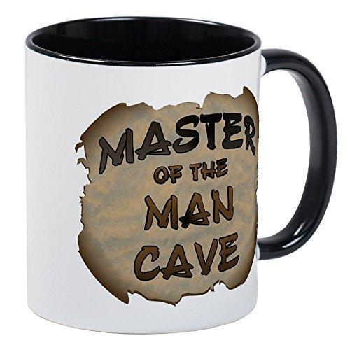 (CafePress - Master Of The Man Cave Mug - Unique Coffee Mug, Coffee Cup )