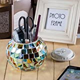 Color Changing Mosaic Solar Light,MUEQU Crystal