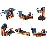 KOHSTAR Mini Soft Metal Woodworking Lathe Drilling Milling Sanding Machine Kit for Hobby Modelmaking