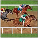 Beistle Horse Racing Luncheon Napkins, Multicolor