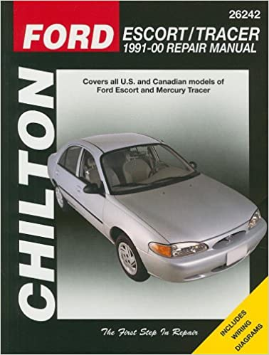 Ford Escort & Tracer: 1991 thru 2000 (Chilton's Total Car