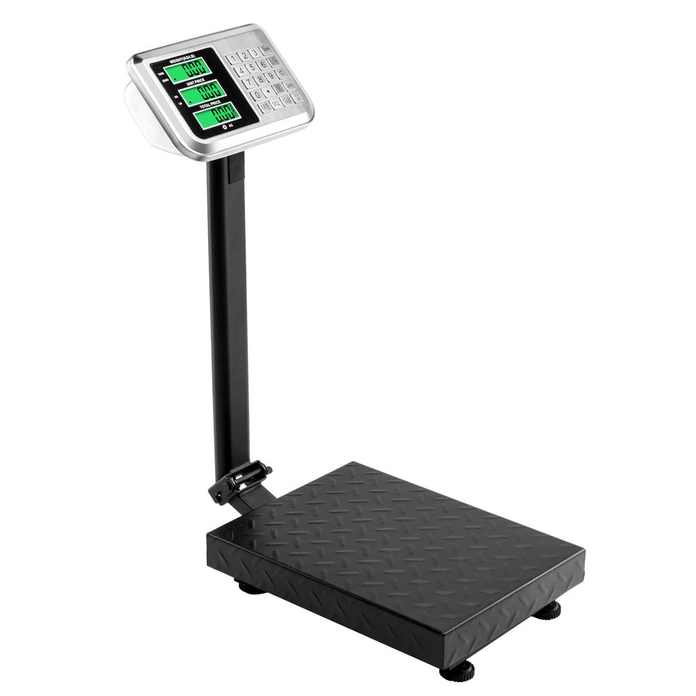 8d785108923e TUFFIOM 220lb Weight Electronic Platform Scale,Digital Floor Heavy Duty  Folding Scales,Stainless Steel High-Definition LCD Display, Perfect for  Postal ...