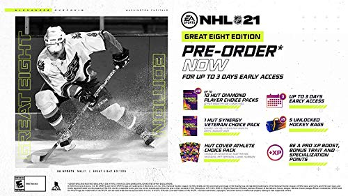 NHL 21 Great Eight Edition – Xbox One – Xbox Series X|S [Digital Code]