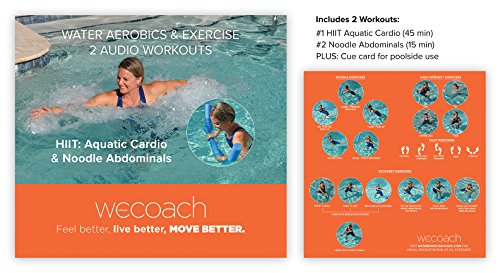 2 Water Workouts HIIT Aquatic Cardio & Noodle Abdominals (AUDIO CD)