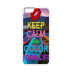 "Color your life Custom Case for Iphone6 4.7"", Personalized Color your life Case"