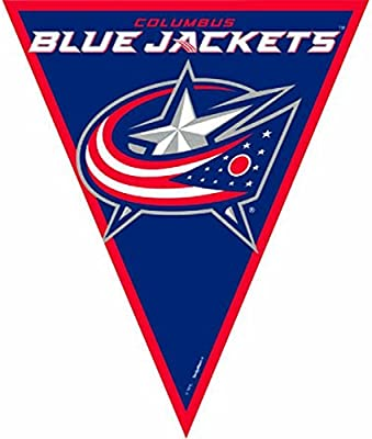 Columbus Blue Jackets NHL Collection Pennant Banner Party Decoration