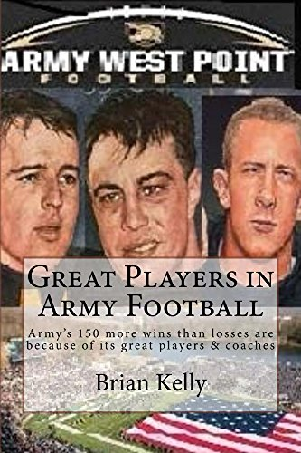 Great Players in Army Football: Army's 150 more wins than losses are because of its great players & coaches
