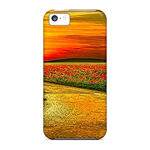High Quality Shock Absorbing Cases For Iphone 5c-leading To Sunset
