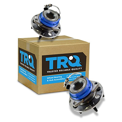 TRQ Front Wheel Hub & Bearing Pair for Chevy Buick Cadillac Pontiac Olds FWD - Wheels Cadillac Deville Fwd