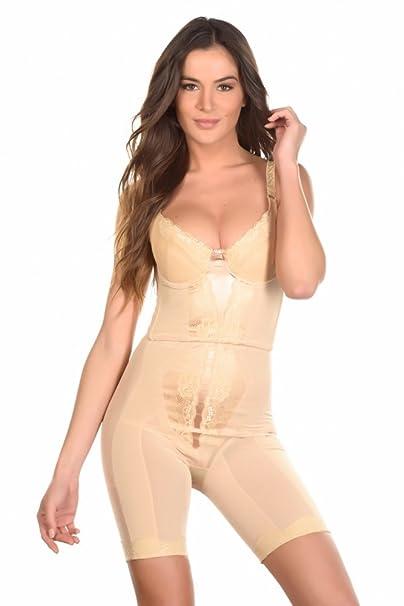 Just For Victoria - Conjunto de lencería - para mujer beige XXL