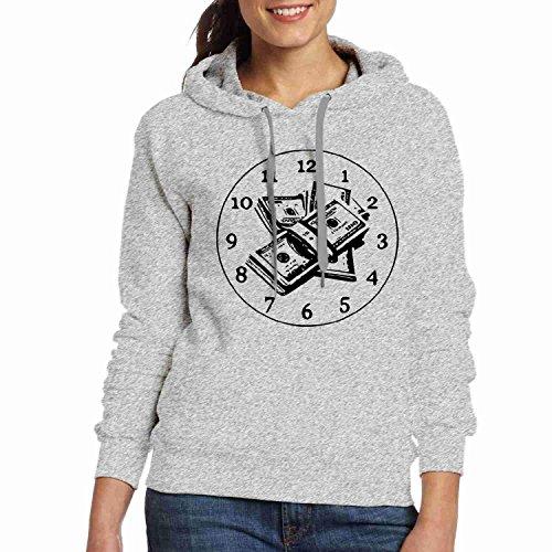 Womens Money Hoodies Tshirts Hoodies Time Customized Sweatshirt Grey is WXqWw7nrfv