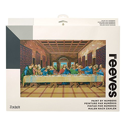 "Reeves Paint by Numbers 12"" x 16"", the Last Supper by Reeves"