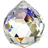 Doloburn 50mm Large Crystal Ball Prism Pendant