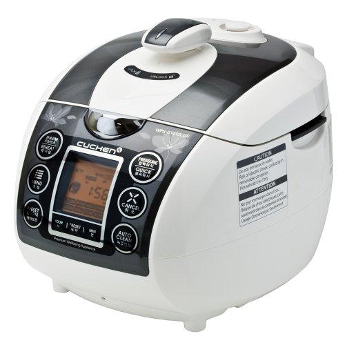 Cuchen Elvan Pressure Rice Cooker 10cup, Dark Silver (WPS-G1012L)