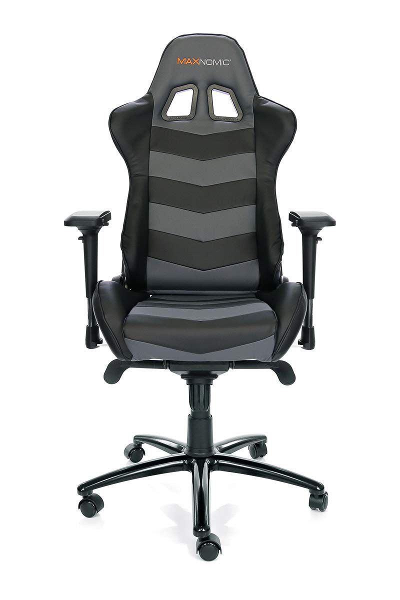 Amazon.com: MAXNOMIC Thunderbolt (Black) Premium Gaming Office & Esports Chair: Kitchen & Dining