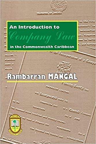 Book An Introduction to Company Law in the Commonwealth Caribbean by Rambarran Mangal (1997-01-31)