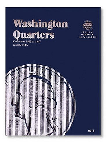 Washington Quarter Folder 1932-1947 (Official Whitman Coin Folder)